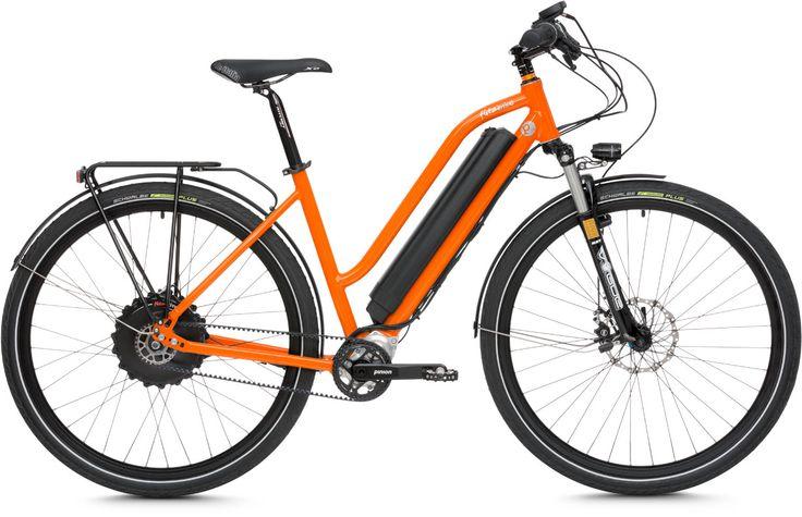 flitzbike p18 jetzt auch mit comfort rahmen e bike. Black Bedroom Furniture Sets. Home Design Ideas