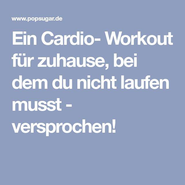 cardio training fettverbrennung zu hause