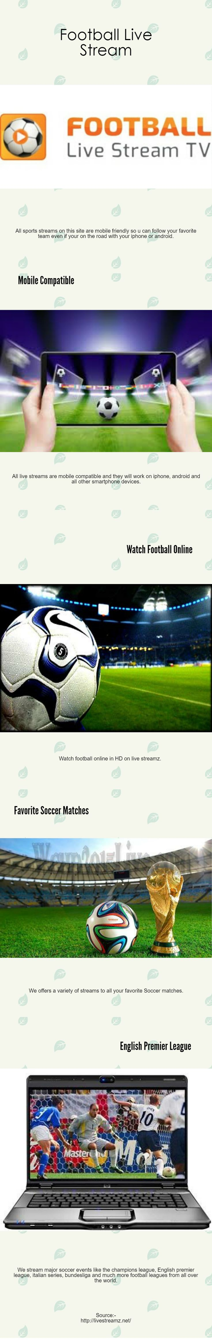 All sports streams on this site are mobile friendly so u can follow your favorite team even if your on the road with your iphone or android. http://livestreamz.net/football-live-stream/ #premier_league_live_stream #champions_league_live_stream #watch_football_online #football_live_stream #UEFA_live_stream #mls_live_stream #La_Liga_live_stream #Primeira_Liga
