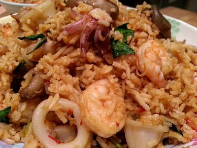 Slimming World Delights: Thai Basil and Seafood Fried Rice