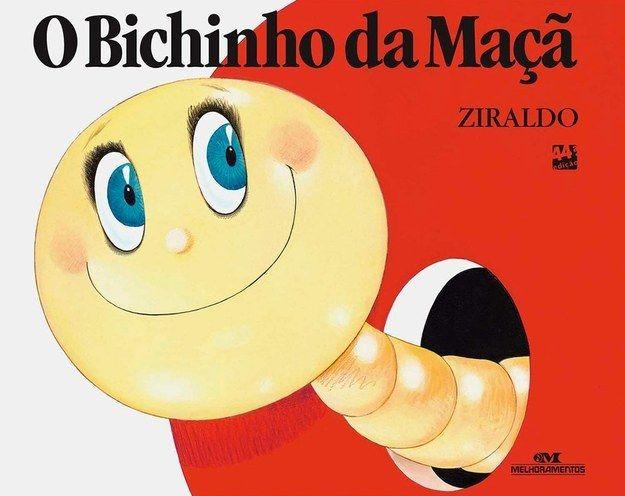 O Bichinho da Maçã, Ziraldo | 40 livros que vão fazer você morrer de saudades da infância