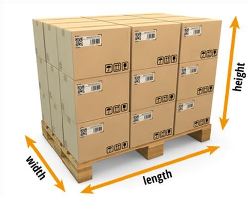 Pallet dimensions height
