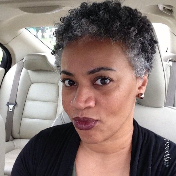 African American Salt And Pepper Hairstyles: When I Get Older....i Really Hope My Hair Goes Salt