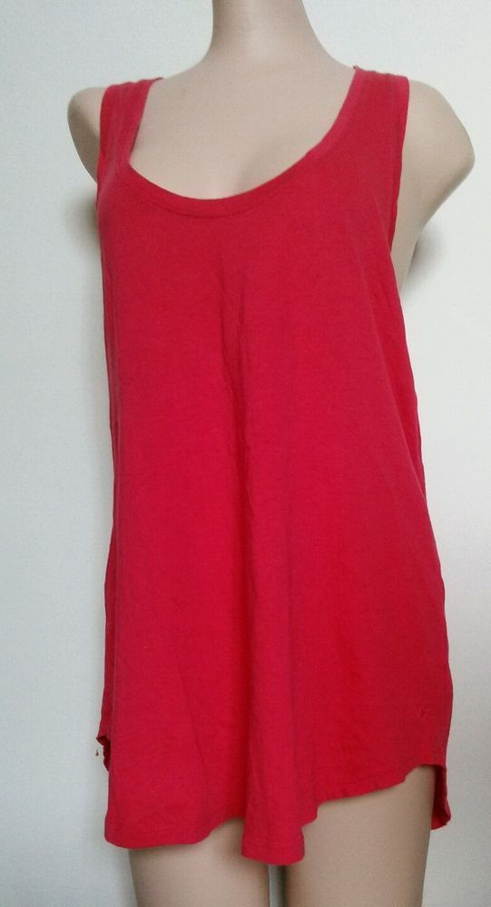 American Eagle Outfitters Women 39 S Razor Back Red Pink