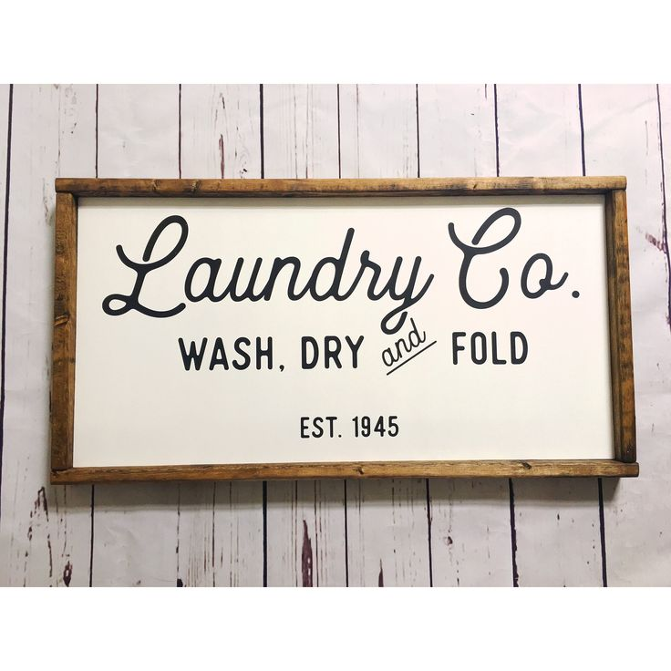 Laundry Room Signs Decor: 25+ Best Ideas About Rustic Laundry Rooms On Pinterest