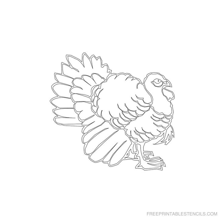 Rooster Stencils Printable Free