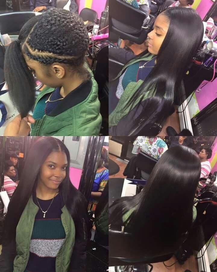H F 10a Straight Virgin Human Hair 4 Bundles Natural Black Hair Styles Sew In Hairstyles Virgin Brazilian Straight Hair