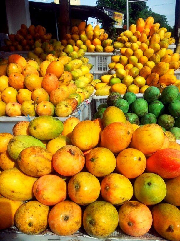 mangga podhang can be found only at Kediri - East Java,Indonesia #kediri #fruit #mango #EastJava #Indonesia