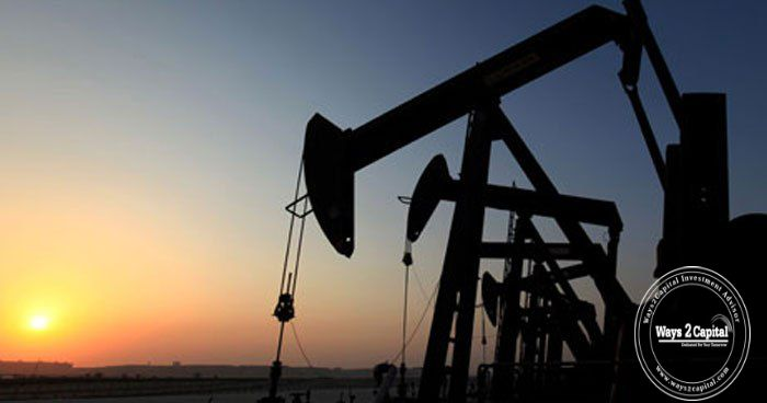 Crude oil futures were trading lower during afternoon trade in the domestic market
