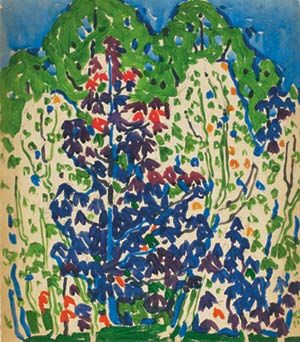 David Milne has long been recognized as one of Canada's most original and influential artists. Description from ago.net. I searched for this on bing.com/images