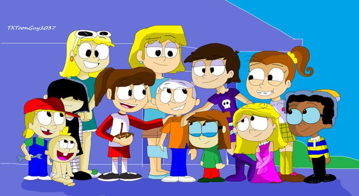 The Loud House - Lincoln and his sisters by TXToonGuy1037.deviantart.com on @DeviantArt