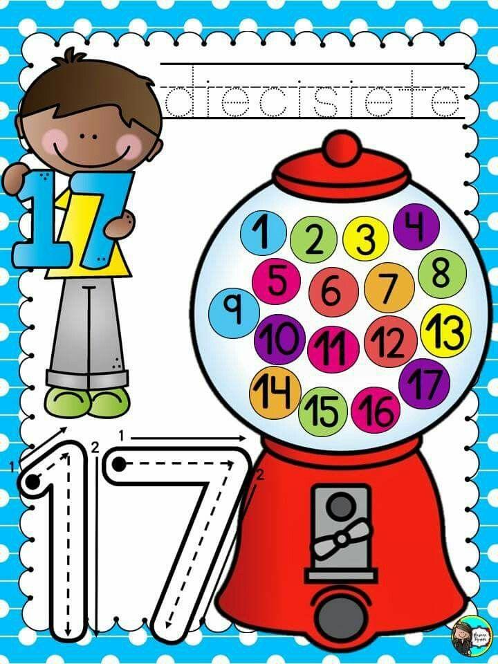 Pin de ⓇⓄⓈⓈⒶⓇⒾⒾⓄ ⒷⒶⒷⓊⒸⒶ en Números (ImágenesLaminas