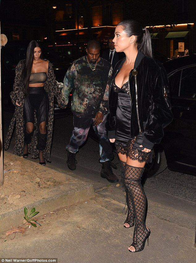 Kim Kardashian 9/29/16