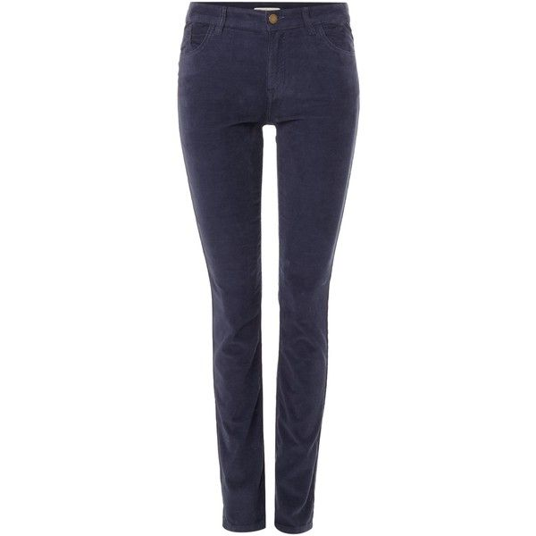 Barbour Aster cord trouser ($86) ❤ liked on Polyvore featuring pants, navy, women, navy blue pants, navy blue cotton pants, navy trousers, cord pants and navy cotton pants