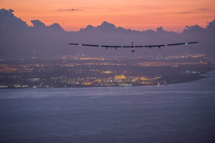 Solar Impulse 2 takes off the final leg of its round-the-world flight In the wee hours of the morning the Solar Impulse 2 took from Cairo embarking on the last leg of its round-the-world journey. The 17th and final partof the trip is set to end in Abu Dhabi where it first set off from in March 2015.  The lastleg of the journey is anticipated to take around 48 hours at which point pilots Bertrand Piccard and Andre Borschberg will have flown a total of 21748 miles marking the first such…