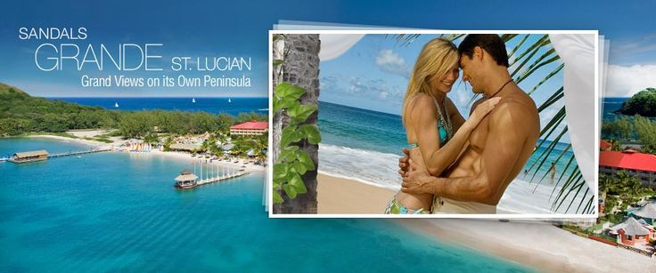 Holy Monkey. Sandals Grande St. Lucian Resort! I keep getting drawn back to St. Lucia!~