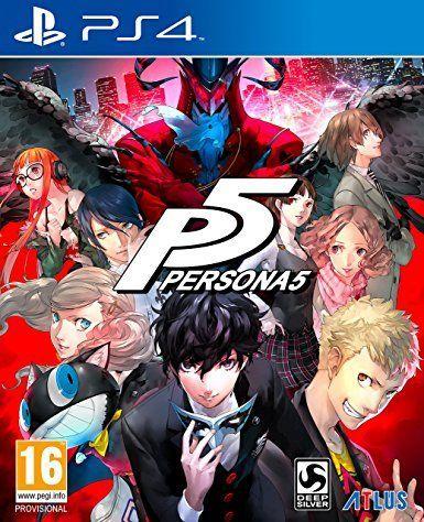 Persona 5 SteelBook Launch Edition (PS4)