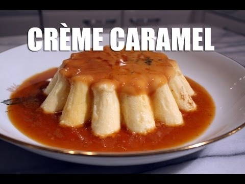 French Caramel Cream by my grandmother Monica #recipe #delicious #yummy #tasty #cooking