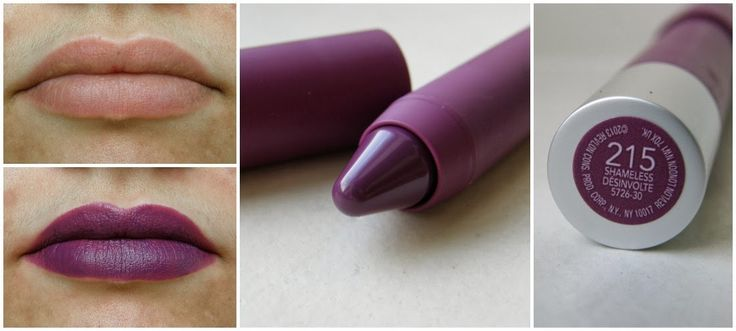 Thrift Thick: Revlon Matte Balms: Swatches + Review!! Colour - 215 Shameless
