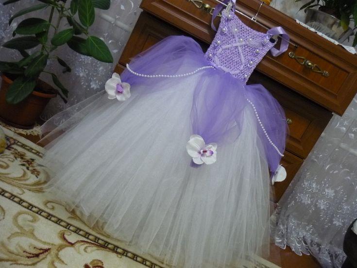 Платье Принцессы Софии...(продолжаю творить из фатина)