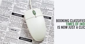 Times of India Classified Ads- How to reach a million more by just a click?