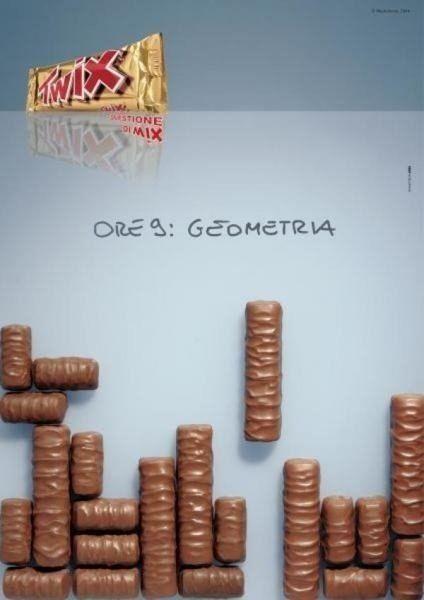 Креативная #реклама шоколада Twix  #реклама #шоколад #twix #креатив #видеореклама