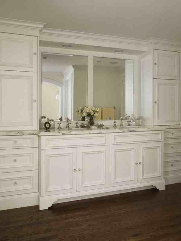 tall white bathroom cabinet - Bathroom Cabinets Kerala