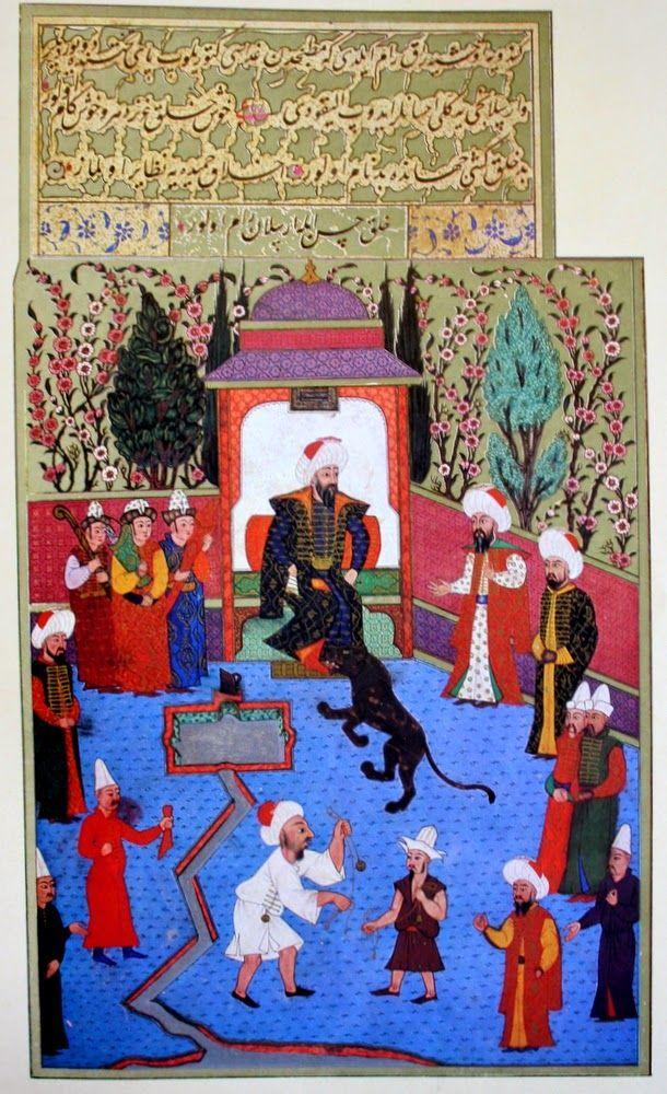 OĞUZ TOPOĞLU : osman gazi ve arslan, hünername nakkaş osman minyatürleri