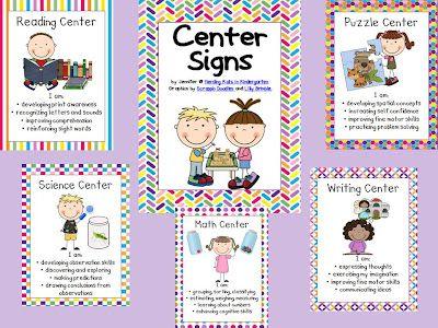Herding Kats in Kindergarten: Center Time (Flash Giveaway!)