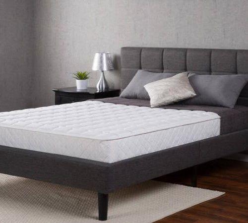 Queen Bed Mattress Bedroom Sleep Comfort Coils 8 Inch Weight Adjustment New