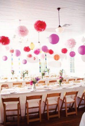 Always Andri Wedding Design Blog: Tissue Paper Pompom  Pomander Inspiration