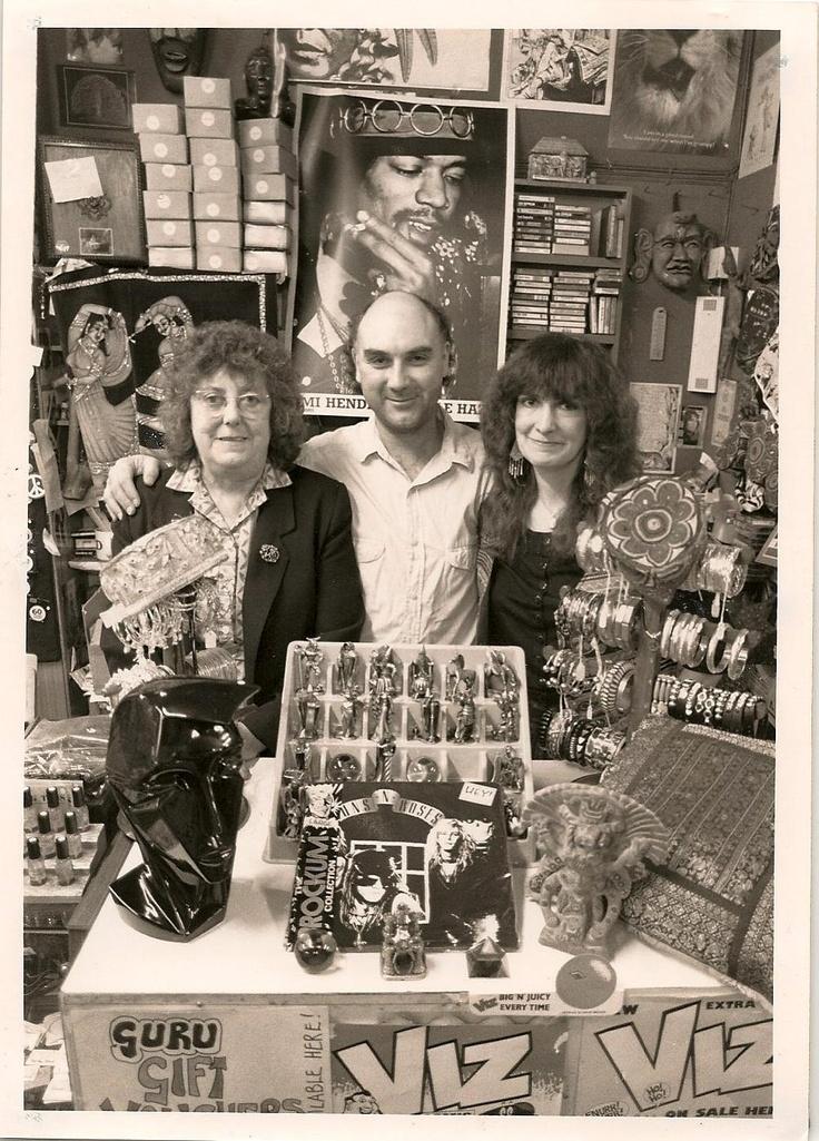 Irene, Tony, Beryl - back in the Court Arcade days!!!