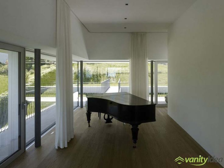 a nice piano in a very romantic place, with a great view