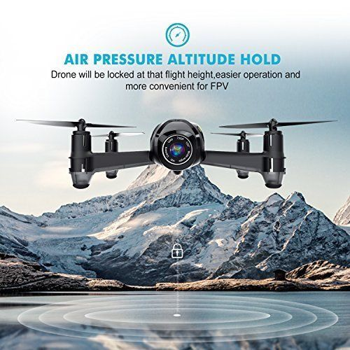 Drone with Camera FPV Altitude Hold One Key Taking Off Landing Beginners Gift US #DronewithCameraFPV