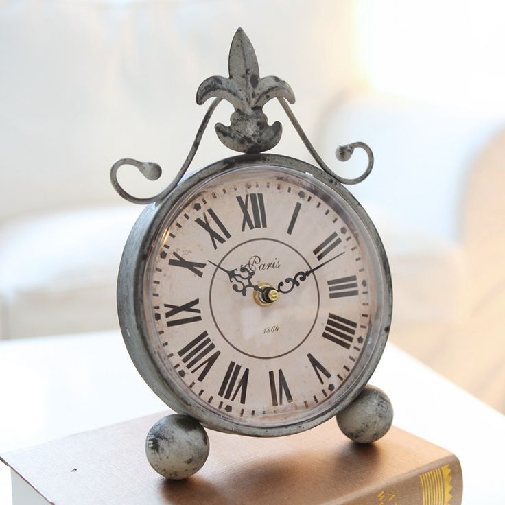 Radio Relogio Despertador Betta European Antique Style Wrought Iron Table Clock Home Decor Crafts Clocks Do The Old Ultra-quiet - http://www.aliexpress.com/item/Radio-Relogio-Despertador-Betta-European-Antique-Style-Wrought-Iron-Table-Clock-Home-Decor-Crafts-Clocks-Do-The-Old-Ultra-quiet/2005006550.html