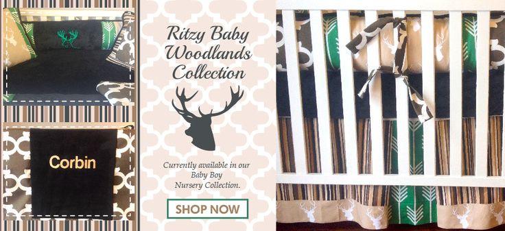 Deer Baby Bedding, Deer Head Custom Boy Bedding, Custom Baby Boy Crib Sets, Deer Crib Bedding, Custom Boy Crib Bedding by Ritzy Baby by RitzyBabyOriginal on Etsy https://www.etsy.com/listing/230241719/deer-baby-bedding-deer-head-custom-boy