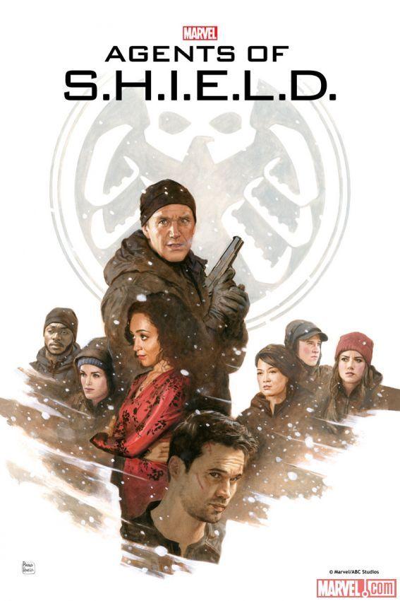 Marvel's Agents of S.H.I.E.L.D.: The Art of Level 7 - Providence print by Paolo Rivera