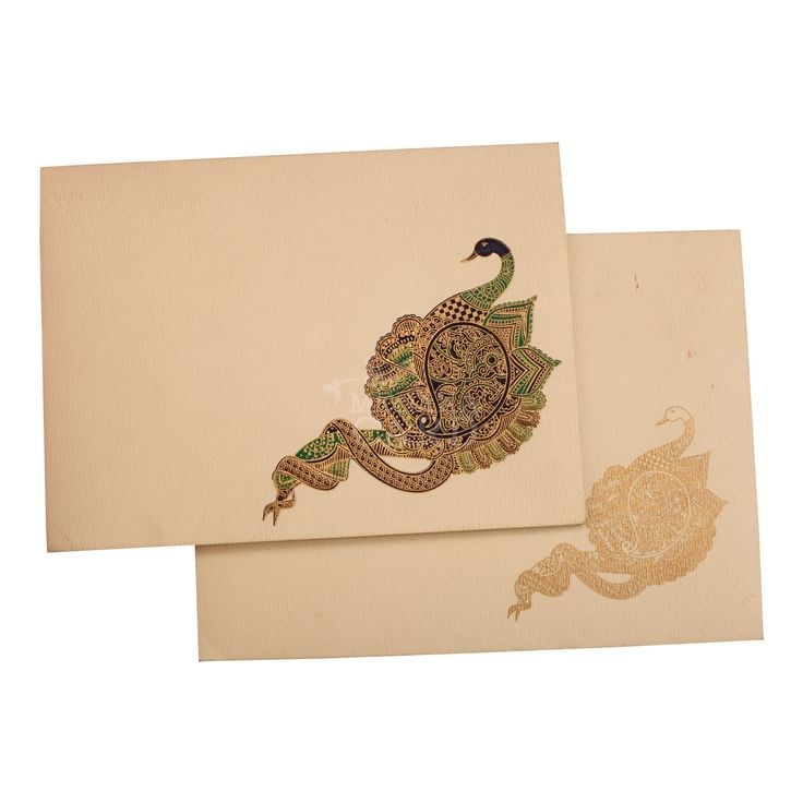 indian wedding cards wordings in hindi%0A Card is made in an imported cream based board with the illustration of  peacock beautifully printed
