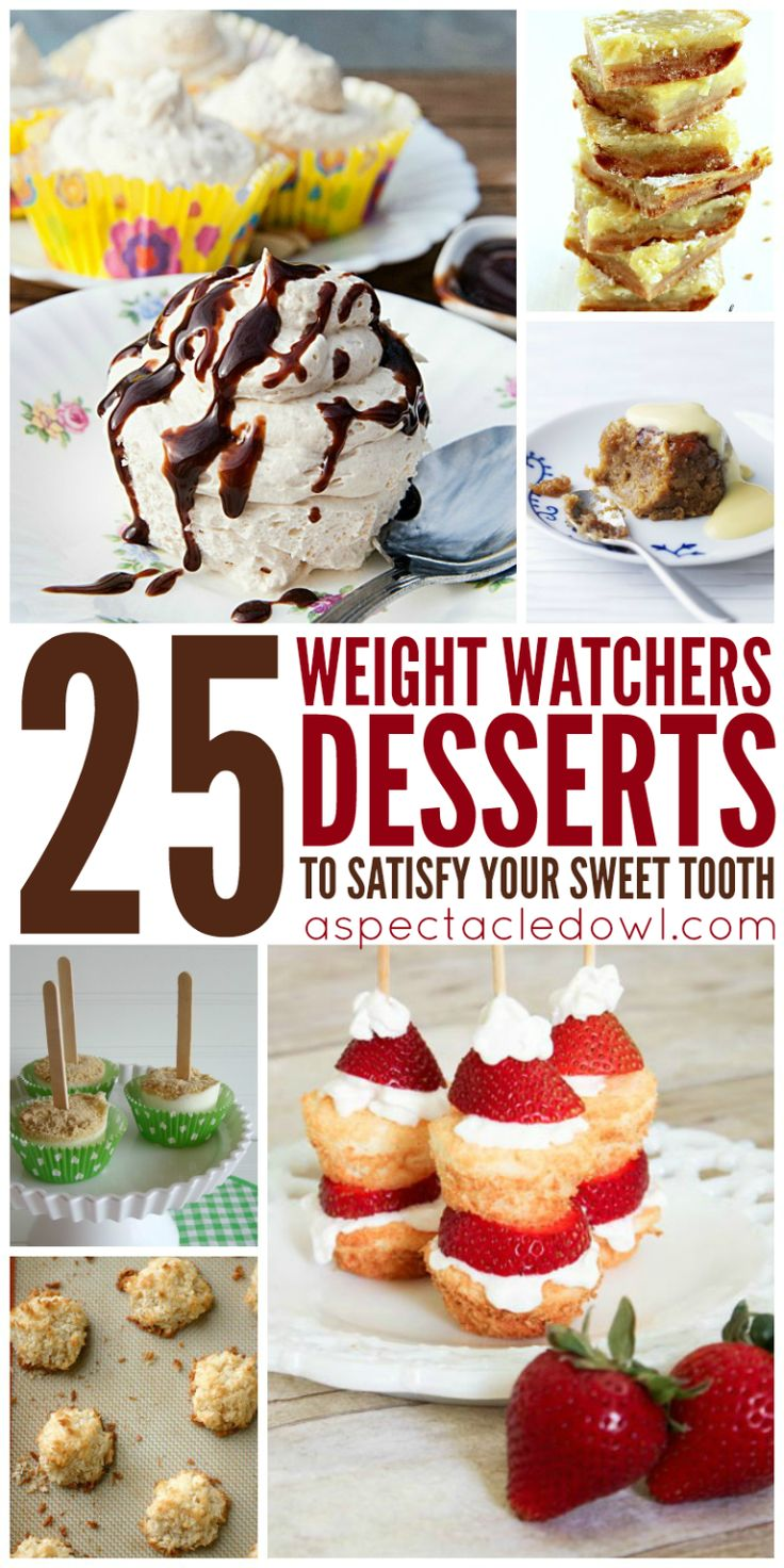 25 weight watchers desserts to satisfy your sweet tooth. Black Bedroom Furniture Sets. Home Design Ideas