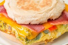 Make Mornings A Breeze With These Easy Meal Prep Breakfast Sandwiches