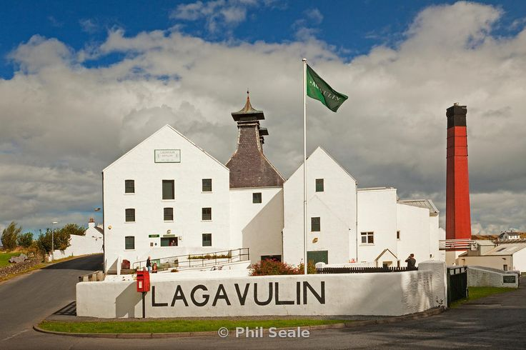 Lagavulin Distillery near Port Ellen on the Isle of Islay