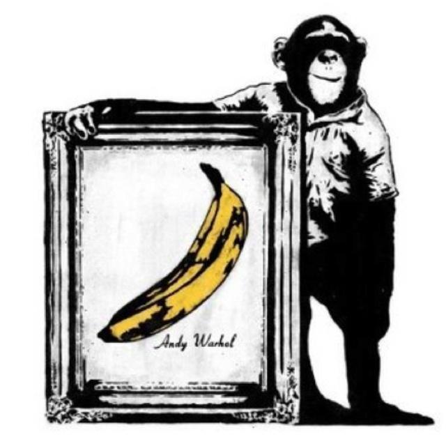 Bansky - Now That's Art