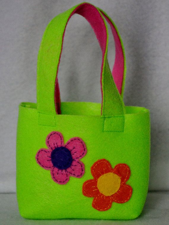 Gift Bag childs small tote by DilybugzCreations on Etsy