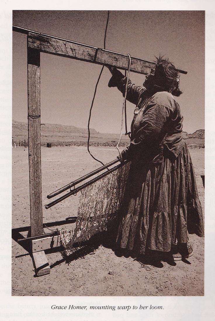 Navajo Weaving Way Weavers Pinterest Weaving Navajo