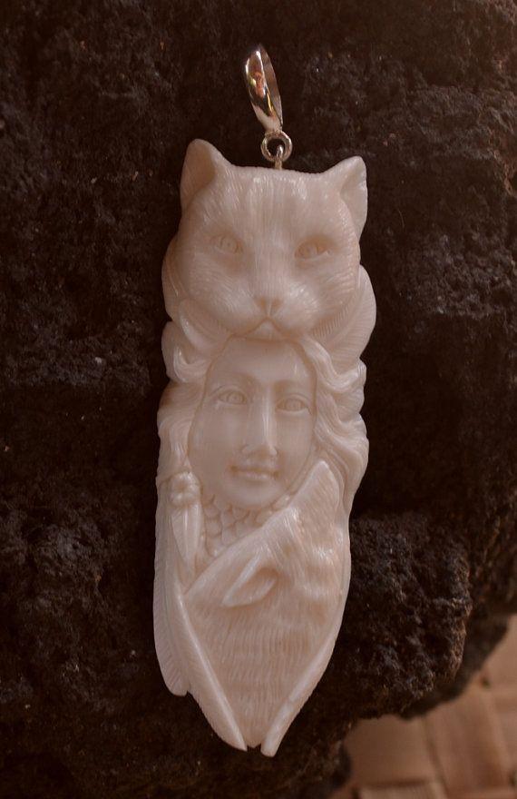 Goddess Cat Face Wolf