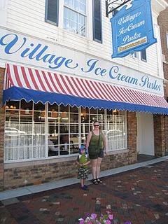 village ice cream shoppe in lebanon ohio cutest place