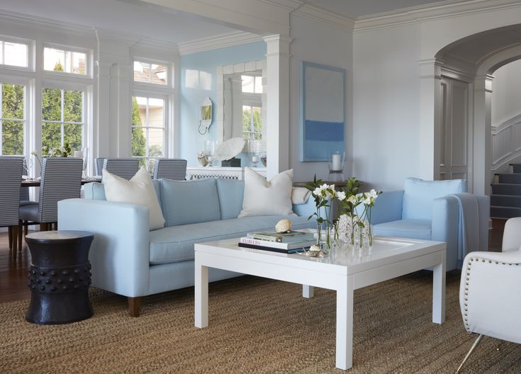 Malibu Coffee Table and oomph Art.  Palm Beach Mirror