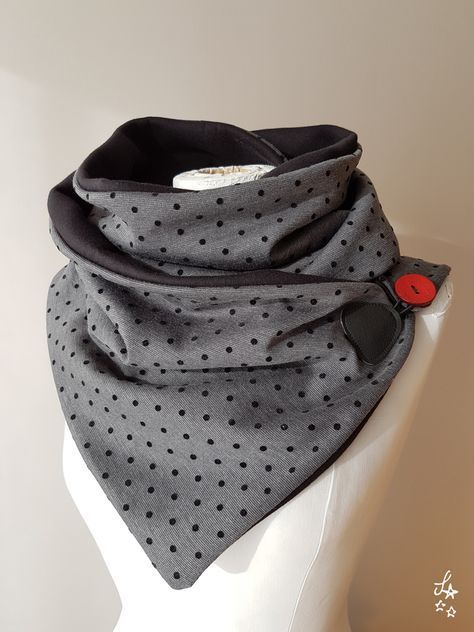 Snood, Scarf, Collar – Sewing – #collar # sewing # scarf #Snood   – Nähen