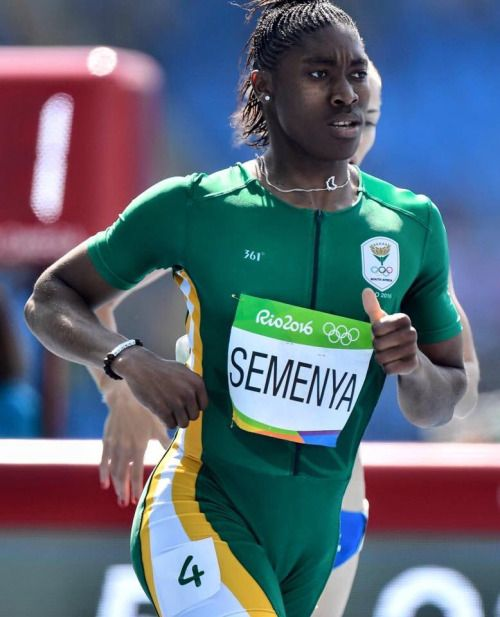 Caster Semenya of South Africa wins GOLD in the 800m!!!!