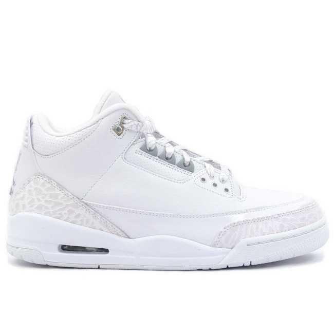 quality design 0d70d a8306 https   www.sportskorbilligt.se  1884   Jordan 3 Silver Vit